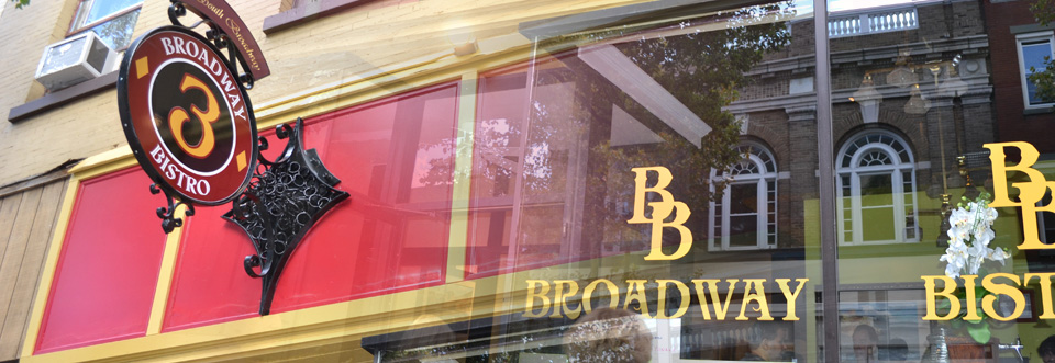 WELCOME TO BROADWAY…